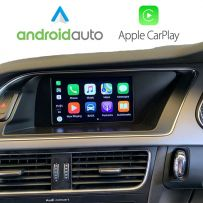 Wireless Apple CarPlay Android Auto Retrofit for Audi A4 A5 S5 A6 S6 Q7 A8 S8 MMI 2G High 2005-2009