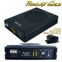 Phoenix Gold 150w Slim Compact Active Under Seat Bass Enclosure