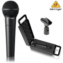 Behringer XM8500 Ultravoice Dynamic Handheld Microphone With Stand Clip & Case