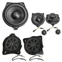 SFK-MB01 BLAM Audio Upgrade Custom Package With 2-Way Component Woofers, 1 Centre Speaker And Subwoofers for Mercedes C, E, S, GLC-Class