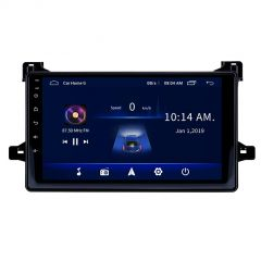 """10"""" GPS Navigation Radio Android 10 Car Multimedia Player With Bluetooth, Wifi, Usb, Aux For Toyota Prius 2016 Onwards"""