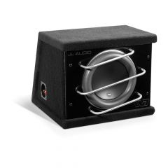 """JL Audio ProWedge Sealed Enclosure 10"""" Car Subwoofer Bass Box with Single 10W7-3 Driver"""