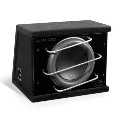 """JL Audio ProWedge Sealed Enclosure 12"""" Car Subwoofer Bass Box with Single 12W7-3 Driver - Anniversary Edition"""