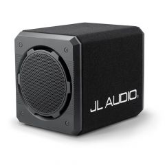"""JL Audio ProWedge Sealed Enclosure 12"""" Car Subwoofer Bass Box with Dual 12TW3-D4 Drivers - 4 Ohm"""