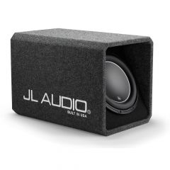 """JL Audio HO Wedge Ported Enclosure 12"""" Car Subwoofer Bass Box with Single 12W6v3-D4 Driver"""