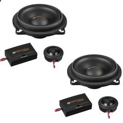 "MATCH UP C42BMW-FRT.1 4"" 2-way Component Speakers 120w custom made for BMW  BMW 1, 2, 3, 4, 5, X Series"