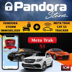 Meta Trak Cat S5 VTS Tracking System Thatcham Aprroved + Pandora Storm Immobiliser With Driver Tag , Can-Bus & Analog Blocking PACKAGE