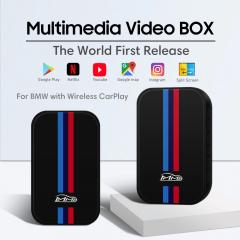 MMB Android Carplay Multimedia Box with Youtube, Netflix, Screen Mirroring, SplitScreen, Wireless Carplay for BMW with factory CarPlay