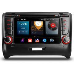 PBX70ATT Android 10 Car DVD Player 7'' Multimedia GPS System Custom Fit for Audi TT MK2 8J (2006-2012)
