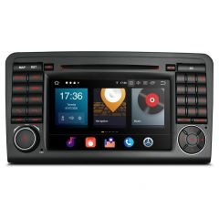 PBX70M164 Android 10  Car DVD Player 7'' Multimedia GPS System Custom Fit for Mercedes-Benz ML- Class W164, GL-Class X164