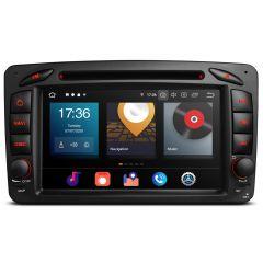 PBX70M203 7'' Car DVD Player Multimedia GPS System Custom Fit for Mercedes-Benz A-W168, C-Class W203, CLK-Class W209 / C209, G-Class W463, Viano & Vito W639