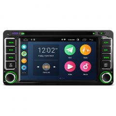 """PSA60HGT Android 10 Multimedia Car DVD GPS Multimedia Player 6.2"""" Display Built-in CarPlay Custom Fit for Toyota"""