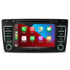 "PSA70CTS Skoda Octavia, Yeti 7"" Android 10 with Built-in CarPlay GPS Navigation Multimedia System"