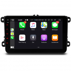 PSN80MTVLS 8″  Car GPS Multimedia Player with Built-in Carplay & Android Auto Custom Made for Volkswagen / Seat / Skoda