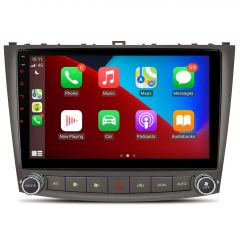 PSP10ISL Android 10.1'' Large IPS Screen Car Stereo Multimedia Player with Built-in CarPlay Custom Fit for Lexus IS250 / IS300 / IS350 (2006-2012)