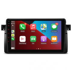"""PSP9046B Android 10 Quad Core 2GB RAM + 32GB ROM Multimedia Player with 9"""" Display Custom Fit for BMW"""