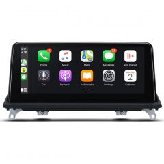 """QB10X5CCS BMW X5/X6 with CCC System 10.25"""" Android 10 Octa-Core Car Stereo with Built-in 4G & CarPlay"""