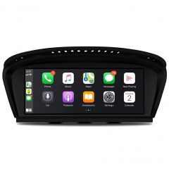 QB8060CIS 8.8 inch Car Android 10 with Built-in 4G & CarPlay for BMW 3 Series E90, 5 Series E60 CIC