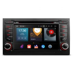 PBX70AA4 Android 10 Car 7'' DVD Player Multimedia GPS System Custom Fit for Audi A4/S4/RS4, Seat Exeo