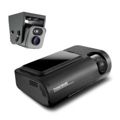 Thinkware T700 2ch Front & Waterproof Rear Exterior Dashcam 1080P Full HD with 4G LTE Connectivity, Wifi & GPS For Commercial Vehicles, Vans & Trucks