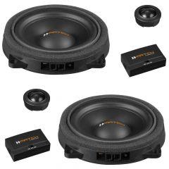"MATCH UP C42BMW-FRT.2 4"" 2-way Component Speakers 120w custom made for BMW  BMW 1, 2, 3, 4, 5, X Series"