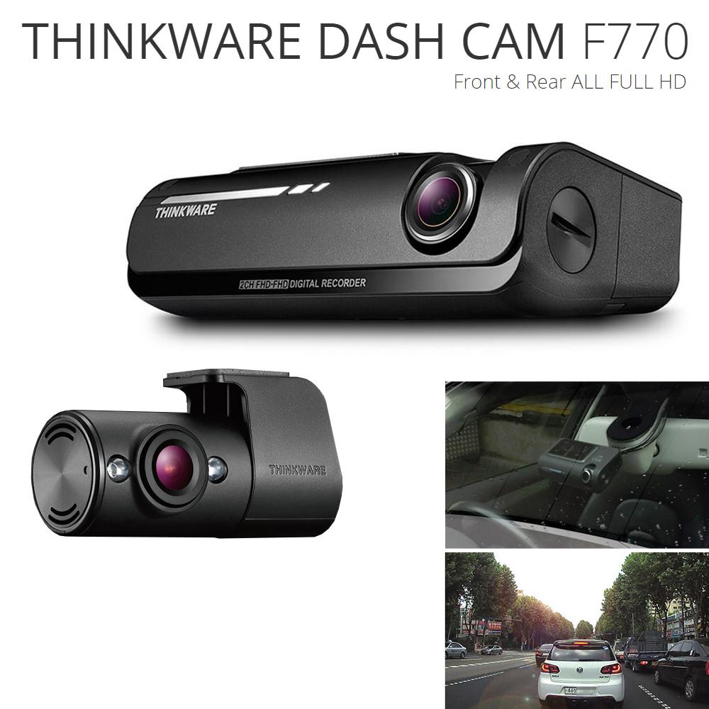 thinkware f770 vorne hinten hd gps wifi auto dashcam. Black Bedroom Furniture Sets. Home Design Ideas