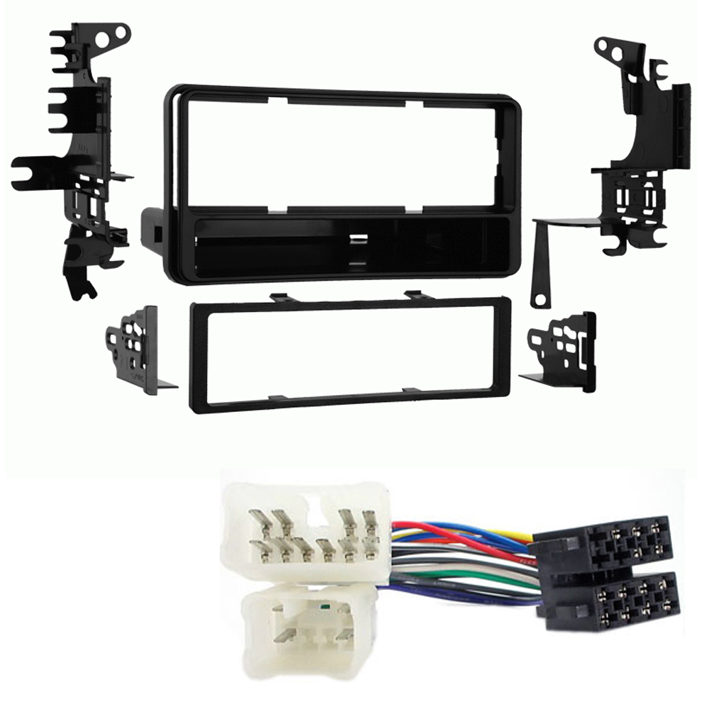 Toyota Rav4 Single Din Facia Adaptor Iso Wiring Lead Stereo Fitting Mazda 3 Cd Car Kit Fascia Loom Ebay
