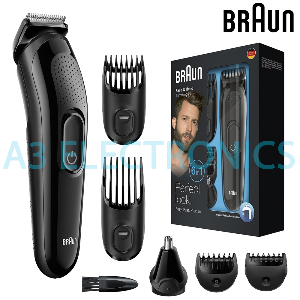 Braun MGK3020 Men Multi-Grooming Kit 6-in-1 Beard   Hair Clipper Trimming  Shaver 6202fbf7a8ad