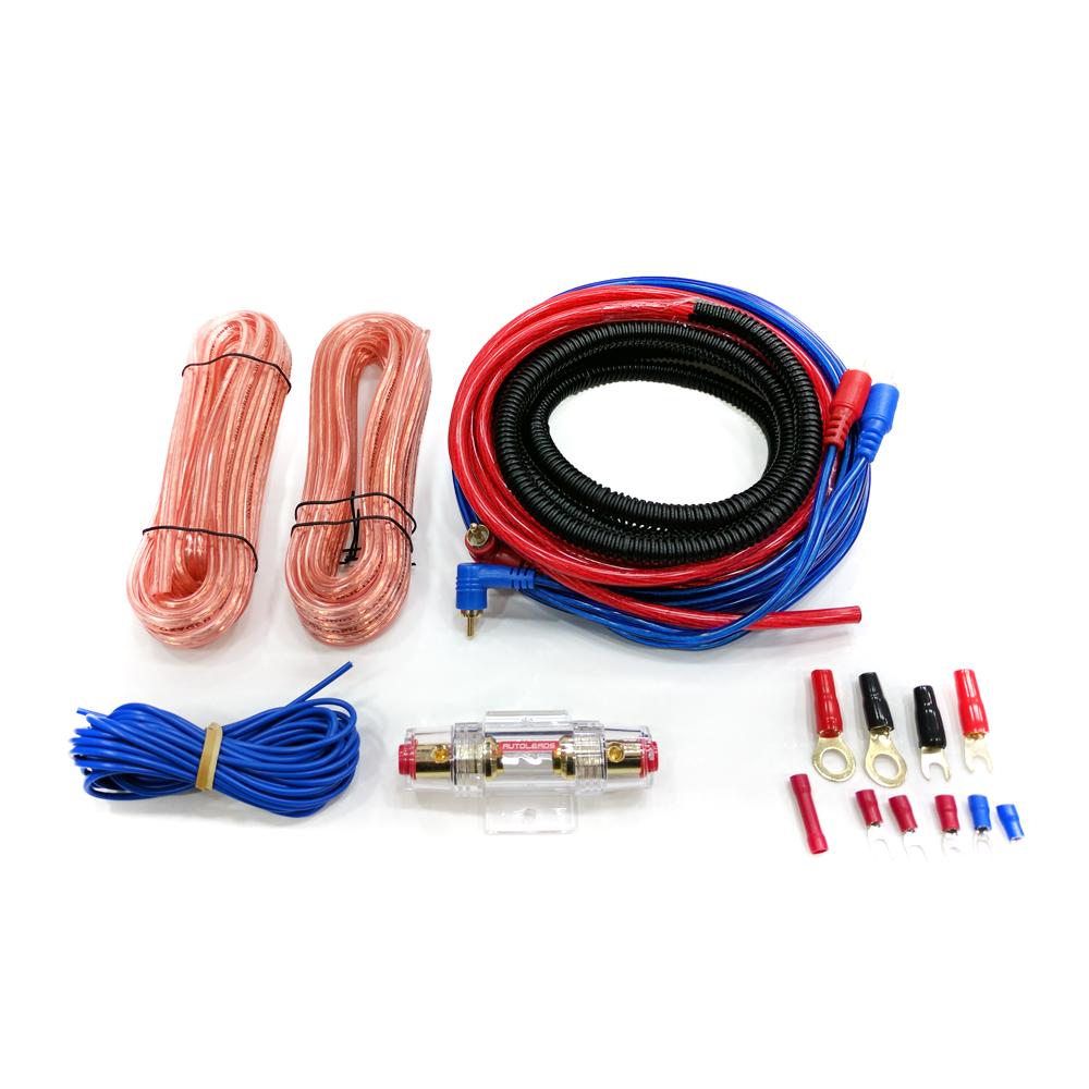 4 Gauge Subwoofer Wire Kit Center 2 Wiring Car Amp Fuse Holder Rca Amplifier Cable Rh Ebay Co Uk Diameter