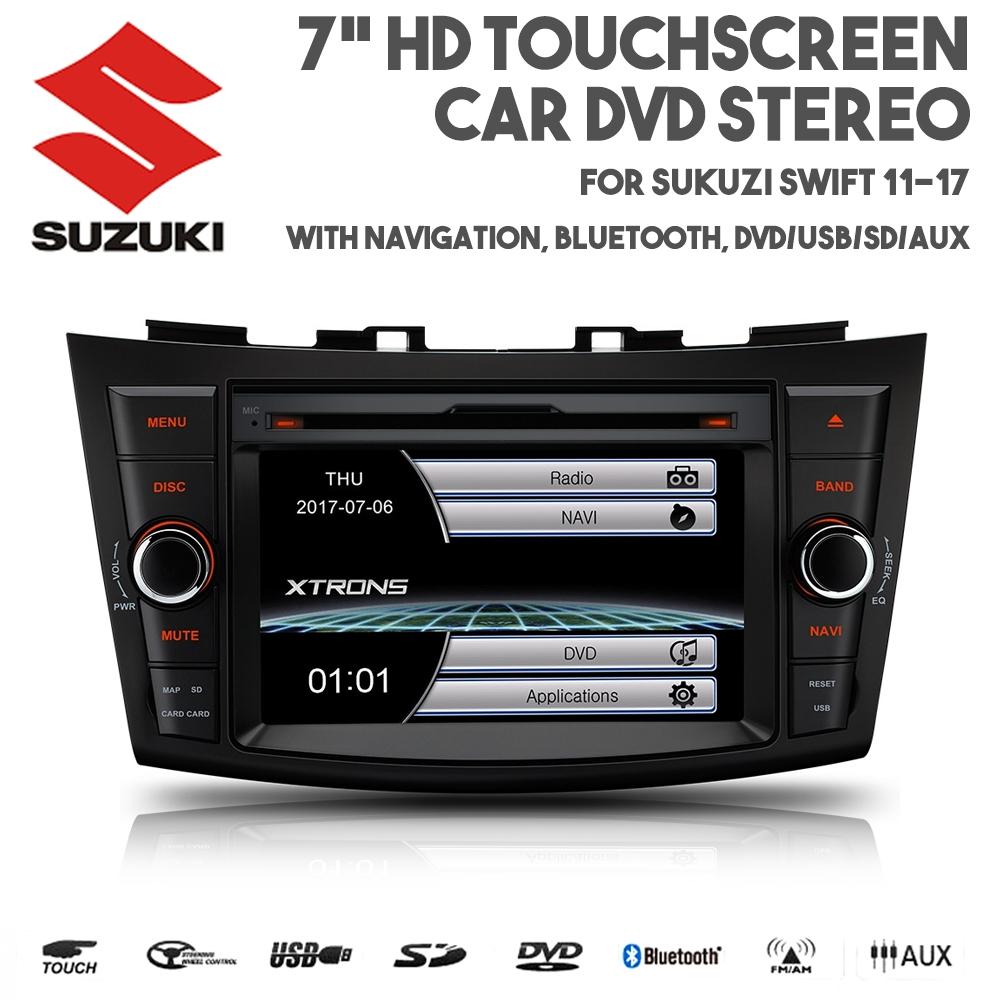 7 touchscreen bluetooth navigation usb dvd stereo f r. Black Bedroom Furniture Sets. Home Design Ideas