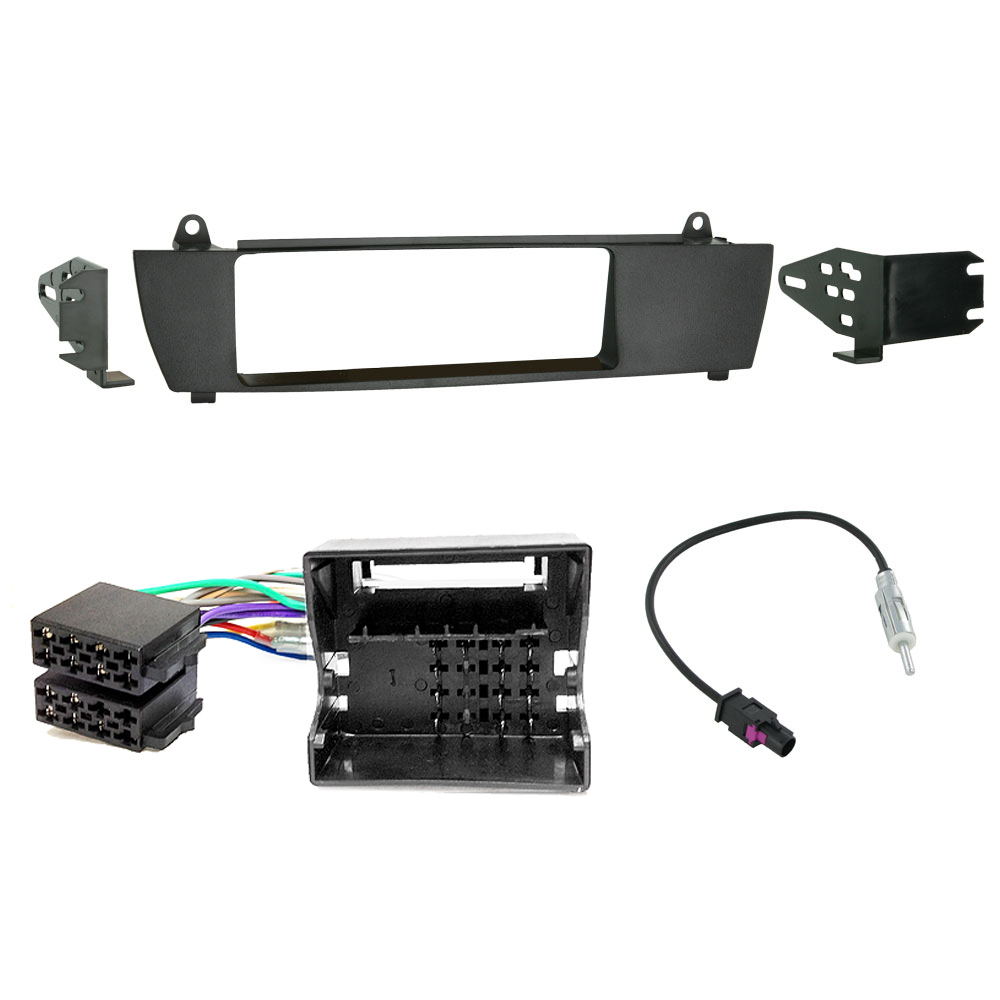 Bmw X3 E83 Single Din Car Stereo Iso Wiring Lead Fascia Panel Fitting Kit
