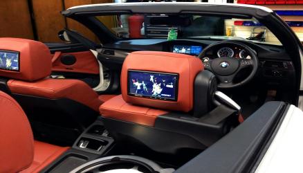 Dual Headrest Screens
