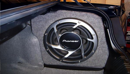 Pioneer Custom Sub Box