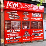 1 In Car Music Outside Store