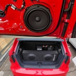 8 inch Focal Components 2x Amps Dsp Installed and Fitted in Audi RS3