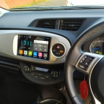 9 Inch Android Multimedia Player Apple CarPlay fitted in Toyota Yaris