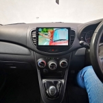 9 Inch Android Multimedia Stereo installed in Hyundai i10