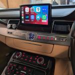 AUDI A8 Wireless Apple CarPlay onto Original MMI Screen