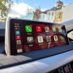 Apple CarPlay Interface fitted in BMW X5 F15