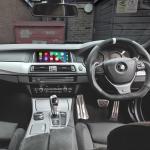 Apple CarPlay in BMW 5 Series 2015