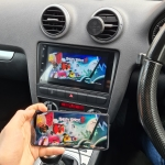 Audi A3 2003 Stereo Update with Phone Mirroring