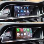 Audi A5 Apple CarPlay Android Auto Interface