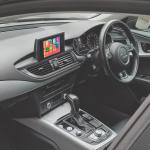 Audi A7 Apple CarPlay fitted on the Origina Screen