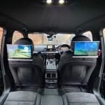 Audi Q5 2019 Headrests Screen Installation