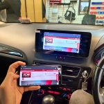 Audi Q5 Replacement Stereo with Phone Mirroring
