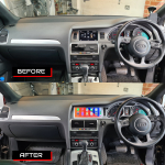 Audi Q7 2014 10inch Stereo Upgrade