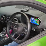 Audi TT S 2018 Apple CarPlay onto Original Virtual Cockpit