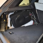 Audison 10inch Sub Compact Enclosure in Range Rover Sport