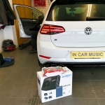 Audison Prima APBX 8 AS Subwoofer Fitted in Volkswagen Golf 7 R