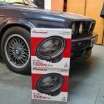 BMW 3 Series 1990 Pioneer Audio Upgrade